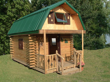 16 X 20 Cabin with Loft Plans 16 X 20 Dovetail Cabin