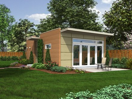 Backyard Cottage Small Houses Unique Small House Plans