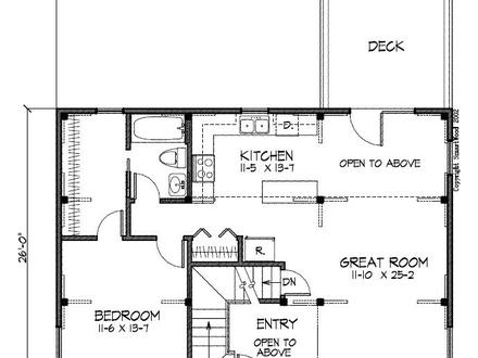 Salt box plans for Small saltbox house plans