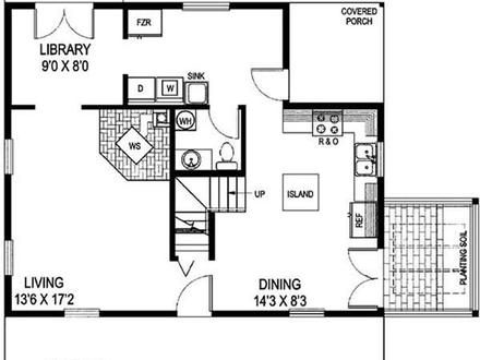 Small Farmhouse Floor Plans Small Farmhouse Plans with Porches