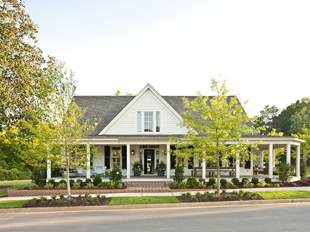 Southern living house plans farmhouse country house plans for Old southern style house plans