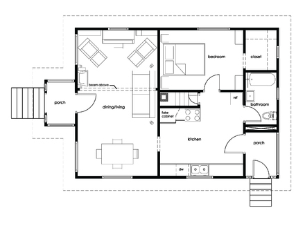 Cube house plans cube house architecture building small Cube house design layout plan