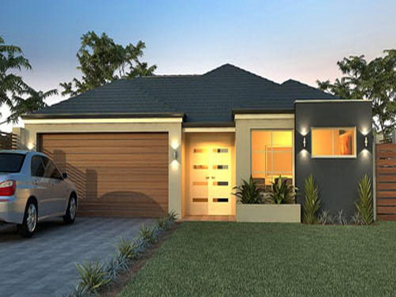3D Small House Plans Small Modern House Plans Single Story