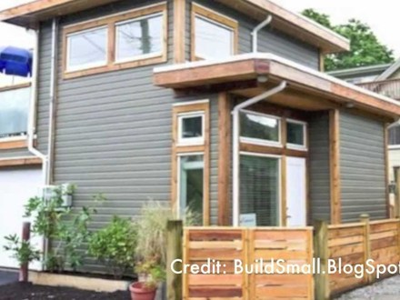 500 Square Feet Tiny House with Loft Room 500 Square Feet
