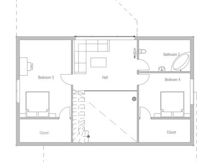 Affordable Small Modern House Plan Affordable House Plans