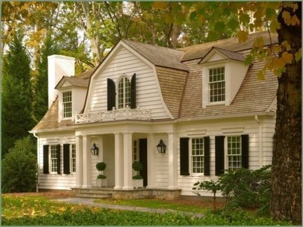 Dutch Colonial Style Houses Colonial Style Homes