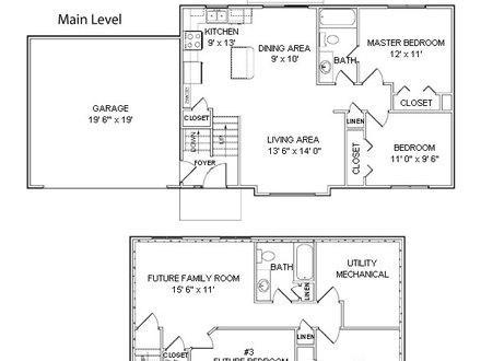 Camp style house plans small camp house floor plans camp for Camp floor plans