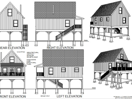 Free Small Cabin Plans Cabin Floor Plans with Loft
