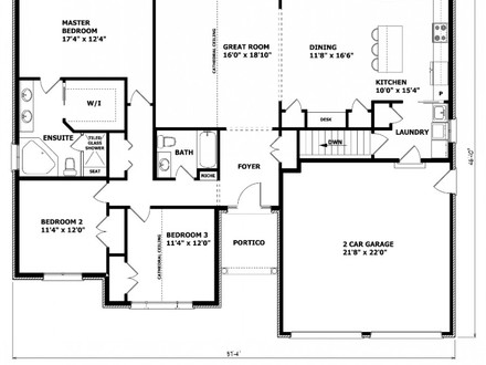House Floor Plans with No Formal Dining Room Single Floor House Plans