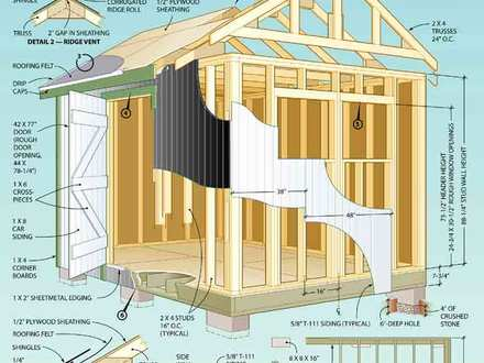 Shouse house plans shed home floor plans house shed plans for Shouse shed house