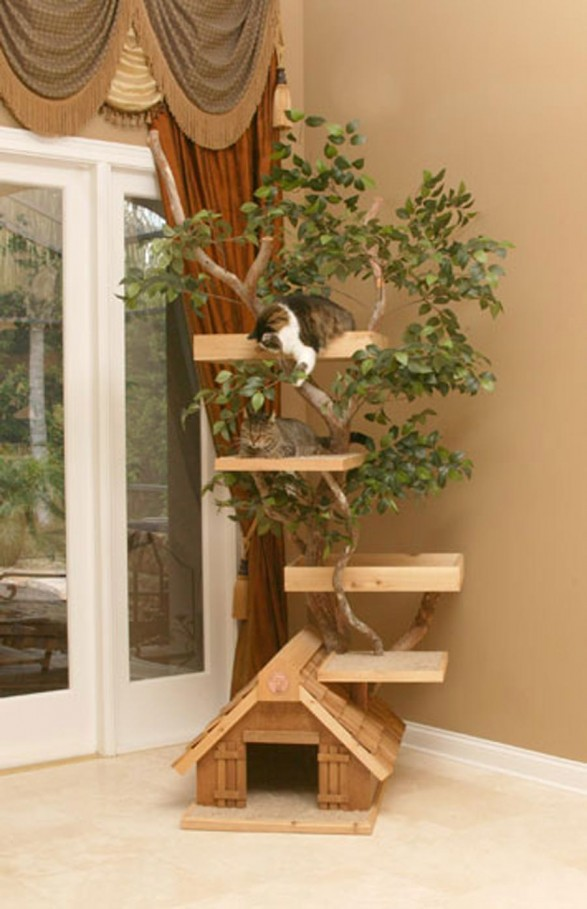 Cat House Plans Cool Woodworking Plans Creative Cat Houses