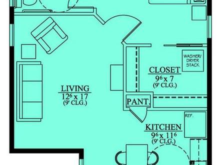 Mother in law suite ideas mother in law suite with garage for Mother in law suite garage floor plan