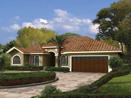 Single Story Spanish House Plans Single Story House Designs