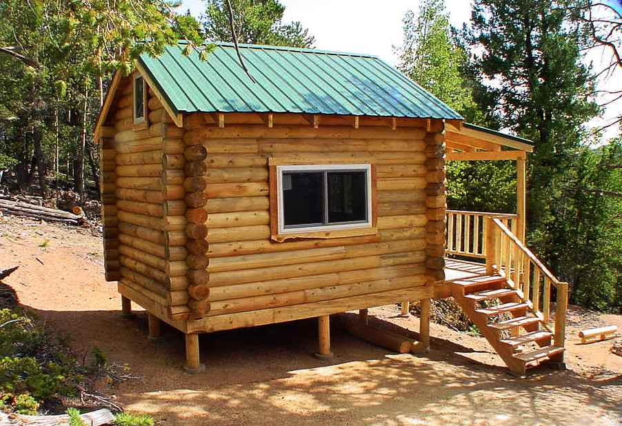 Small Log Cabin Kits Pre-Built Log Cabins