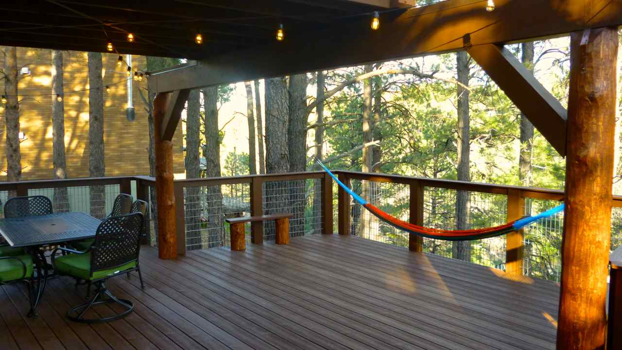 Log Cabin Deck Ideas Cabin with Deck