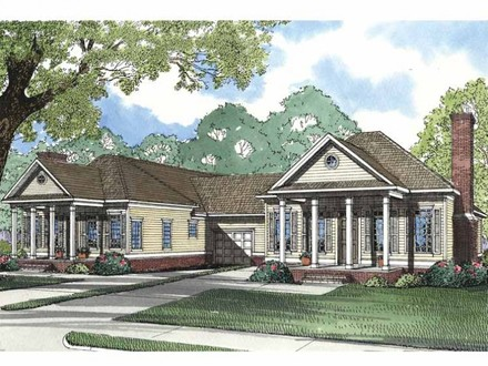 Southern Home Floor Plans Southern Neoclassical Home Plans