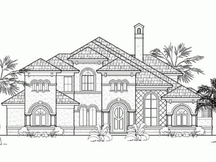 Italianate house floor plans italianate house interior for Italian villa blueprints