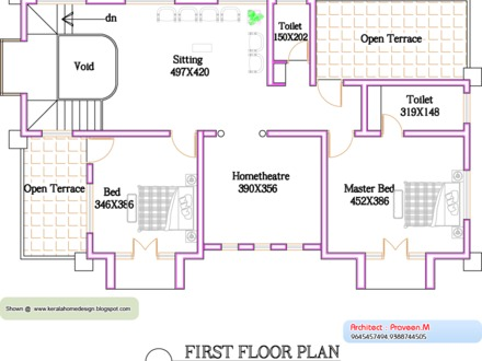 1000 Sq Ft House Plans in Kerala 1500 Sq Ft. House