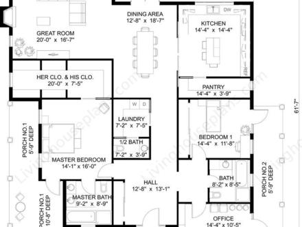 Simple Small House Floor Plans Small House Plans Southern