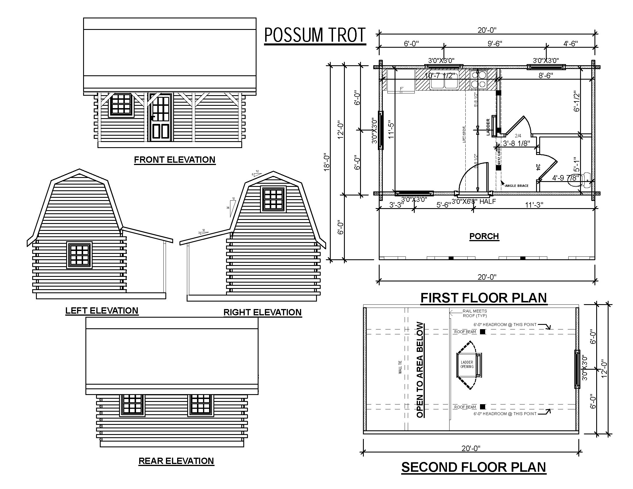 Small hunting cabin plans small cabin floor plans hunting for Cabin building plans free