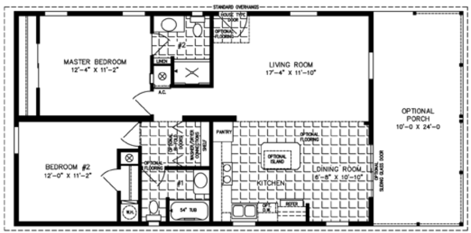 2 bedroom mobile home floor plans 2 bedroom house for rent floor plans for 1 bedroom homes for Two bedroom mobile homes for rent