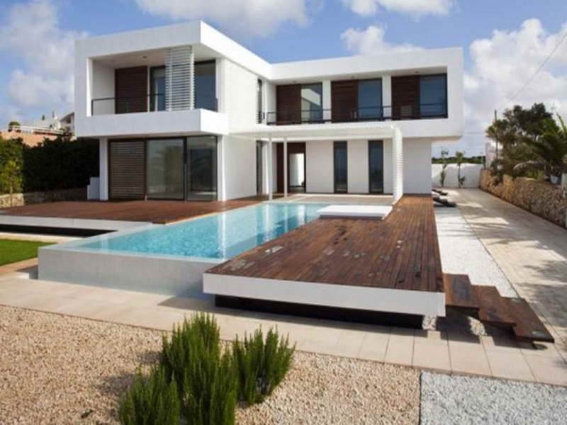 Contemporary House Plans with Pool Small Modern Contemporary House Plans