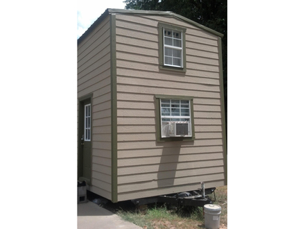 Two Story Tiny House On Wheels Two-Story Tiny House Plans