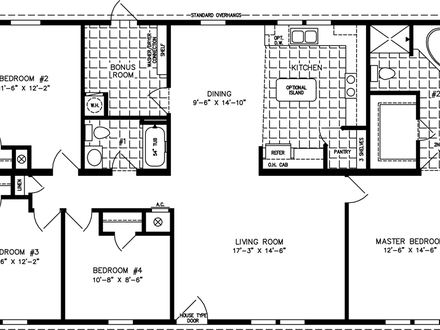 Boat house 500 square feet 800 square feet house plans for House plans under 1400 sq ft