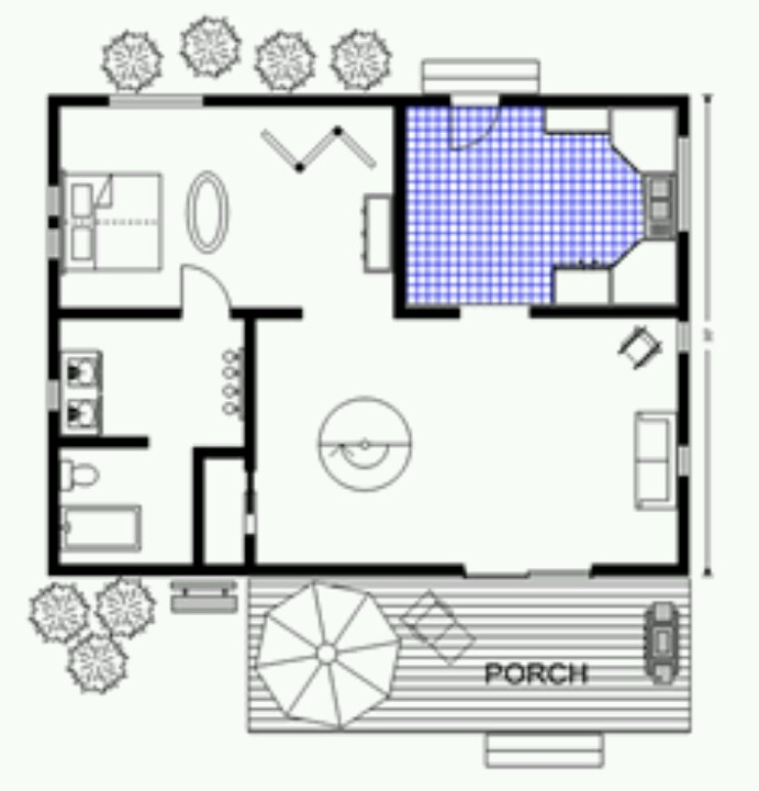 500 sq ft cabin lovely small homes and cottages pinterest for 600 sq yards house plan
