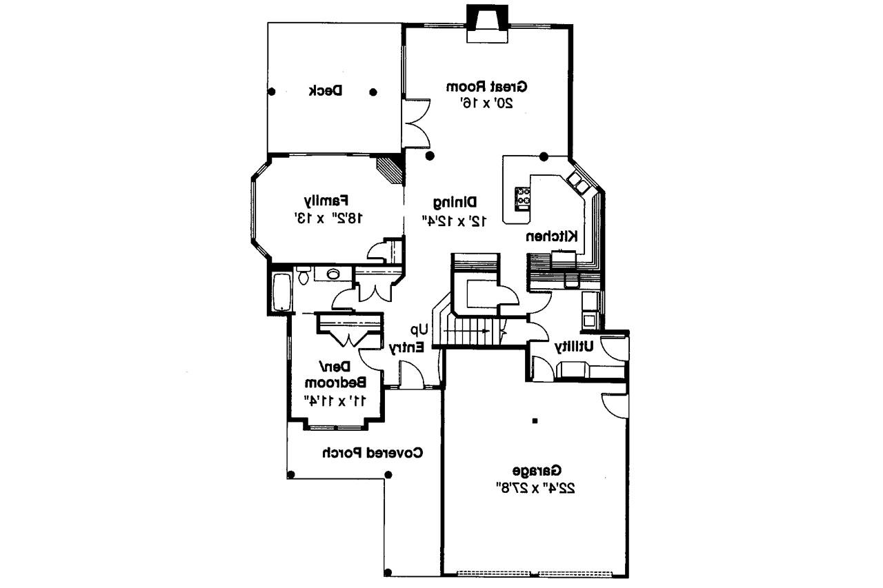 Cabin style house plans lodge style house floor plans for Cabin style floor plans