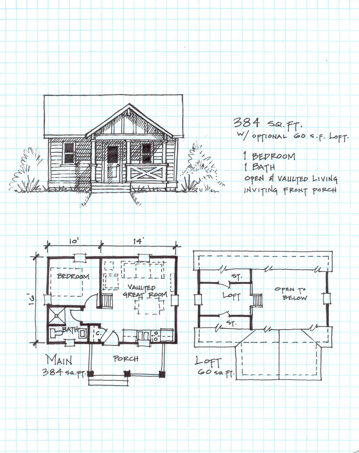 Small Cabin Plans With Loft Rustic Cabin Plans Cabin