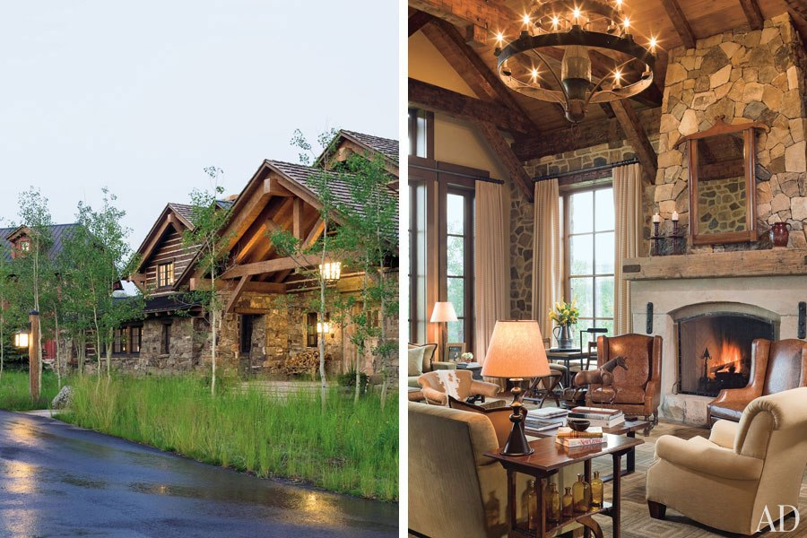 Architectural Digest Country Homes Country Homes