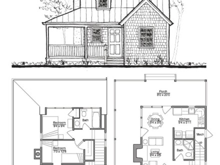 Small House Plans and Designs Three Bedroom House Plans