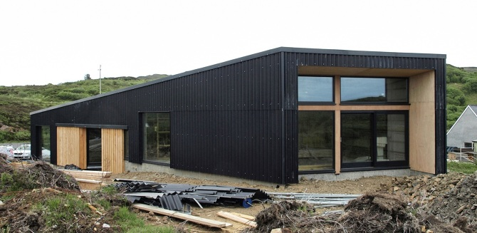 Black house isle of skye black isle software can you for Build a house for under 100k