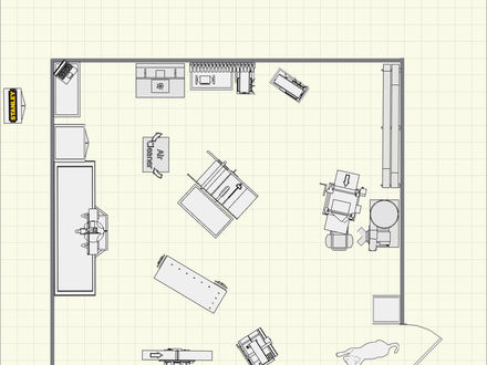 Woodworking Shop Floor Plans 20X20 12X12 Woodworking Shop Floor Plans