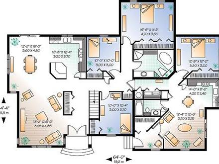 Floor Home House Plans Self-Sustainable House Plans