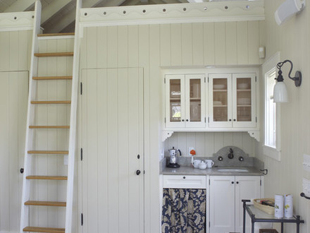 Loft Stairs Ladder for Loft Tiny House Designs