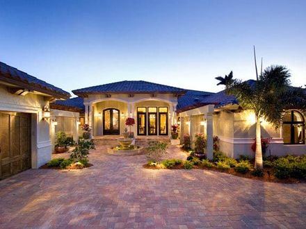 Mediterranean Model Homes Florida Luxury Mediterranean House Plan