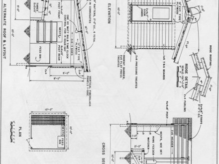 Poultry House Plans Poultry House Construction