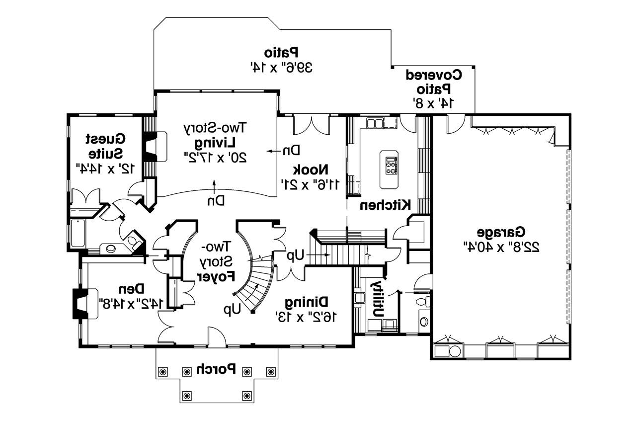 Colonial house floor plans georgian colonial house plans for Colonial house blueprints
