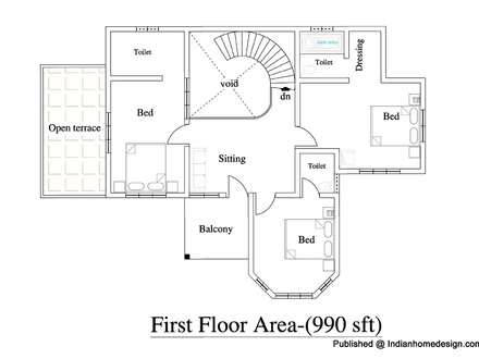 Simple small house plans small house plans india best for Ranch duplex floor plans
