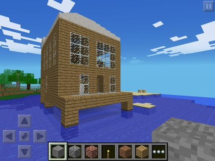 Minecraft Pocket Edition Beach House Minecraft Pocket Edition Update