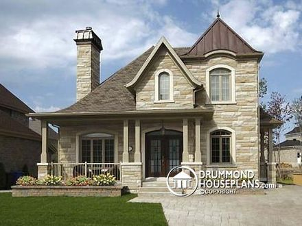 Small Castle Home Plans and Designs Inspired Castle House Plans
