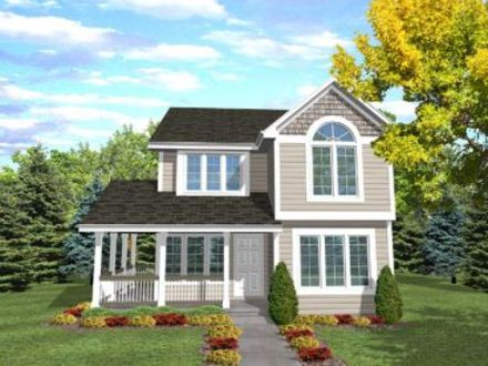 Narrow Lot House Plans with Front Garage Narrow Lot House Plans