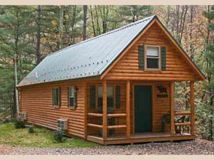 Loft small cabin plans 20x24 small hunting cabin plans for Hunting cabins plans