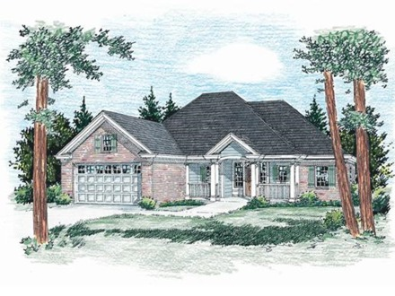 House plan collections plan clothing collection house for Handicap accessible ranch house plans
