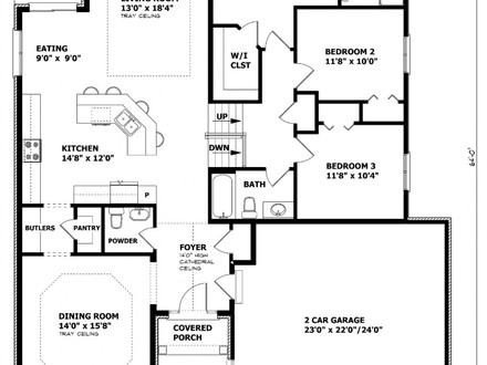 Unique House Plans Canadian Bungalow House Plans House