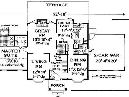 Historic colonial floor plans old colonial floor plans for Federal house plans