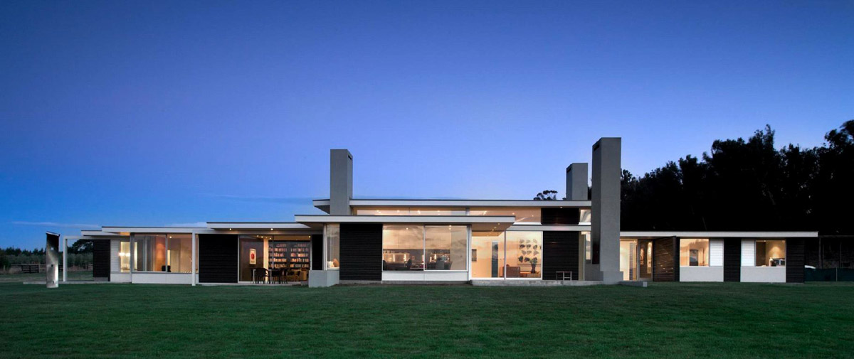One Story Old House Modern One Story House Designs