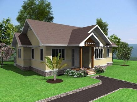Simple House Design 3 Bedrooms in the Philippines Simple Modern House Designs
